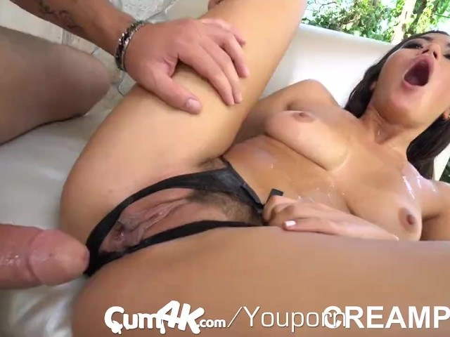 Cum filled and soaked