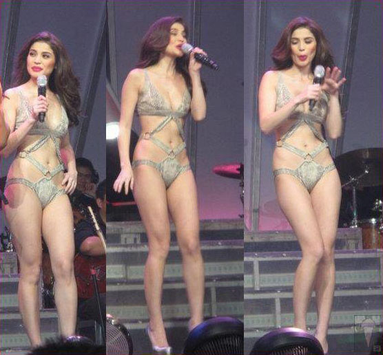Anne curtis almost naked