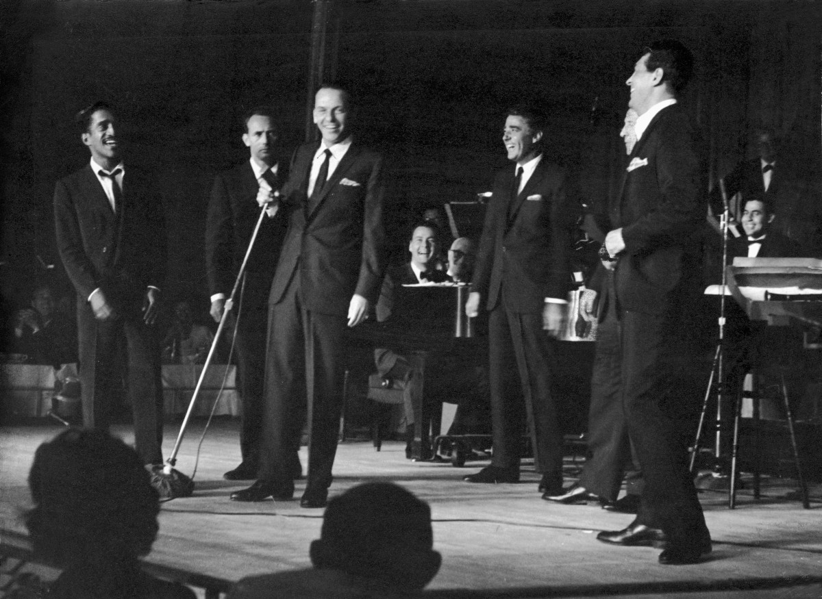 The rat pack wedding band