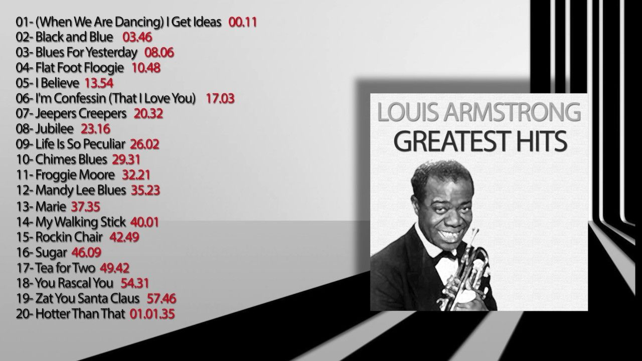 Louis armstrong popular songs