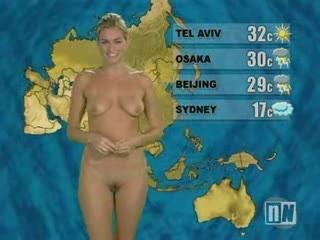 Naked weather women videos