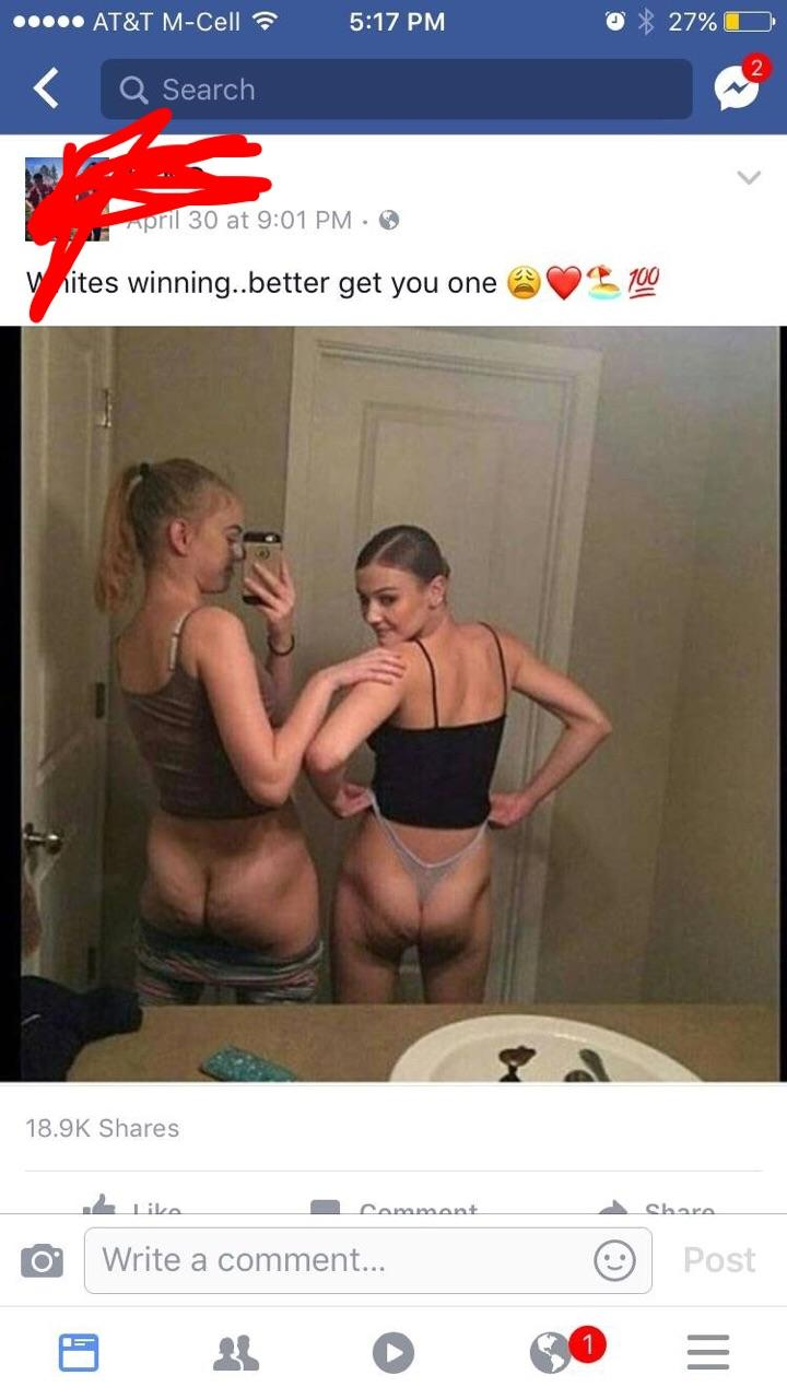 White girls with ass pics